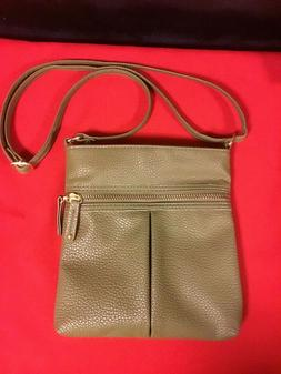 Atmosphere ~ Olive Green Womans Shoulder/Hand Bag ~ New with