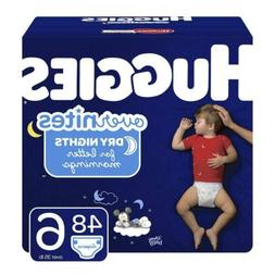 HUGGIES OverNites Diapers, Size 6, 48 ct., Overnight Diapers