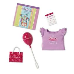 American Girl Party Birthday Goody Bag & Shirt Set For 18-in