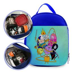 Quality Adventure Time Custom Printed Kids Lunch Bag / Lunch