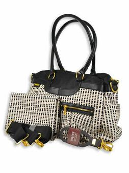 JJ Cole Satchel Diaper Bag with Changing Pad