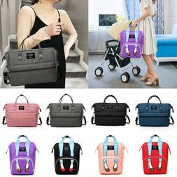 Sexy Leg Mommy Backpack Handbag Tote Large Maternity Nappy T