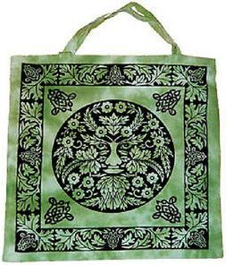 Tote Bag: The Green Man   WICCA PAGAN
