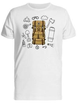 Travel Bag, Expedition Adventure Men's Tee -Image by Shutter