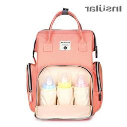 Insular Waterproof Baby Stroller Bag Nappy Changing Bag Baby