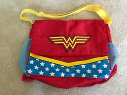 Wonder Woman Diaper Bag and Changing Pad with Detachable Bot